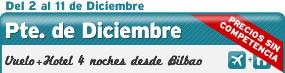 Puente de Diciembre, Vuelo + Hotel desde BIO